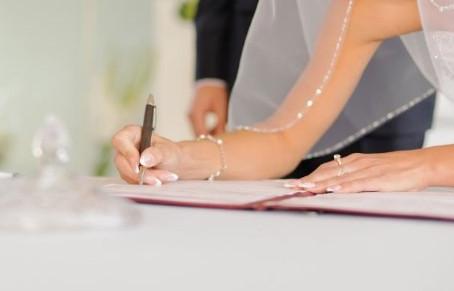 Mariage civil devant Notaire