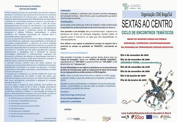 Panfleto 1 Sextas_ao_Centro_POLVO 2018_2