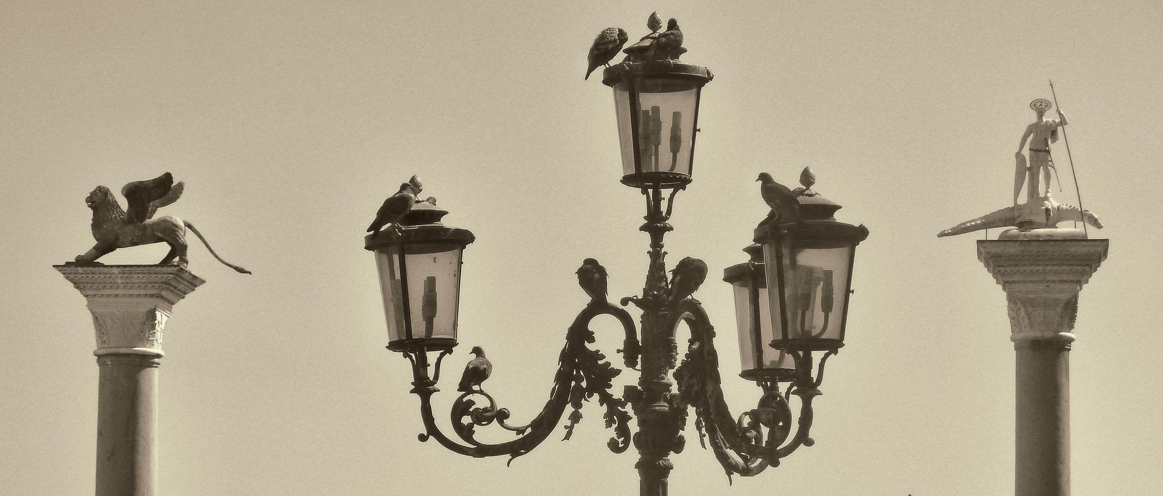 Venetian Lightposts