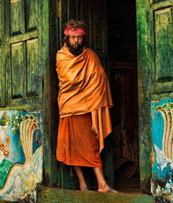 In the Doorway