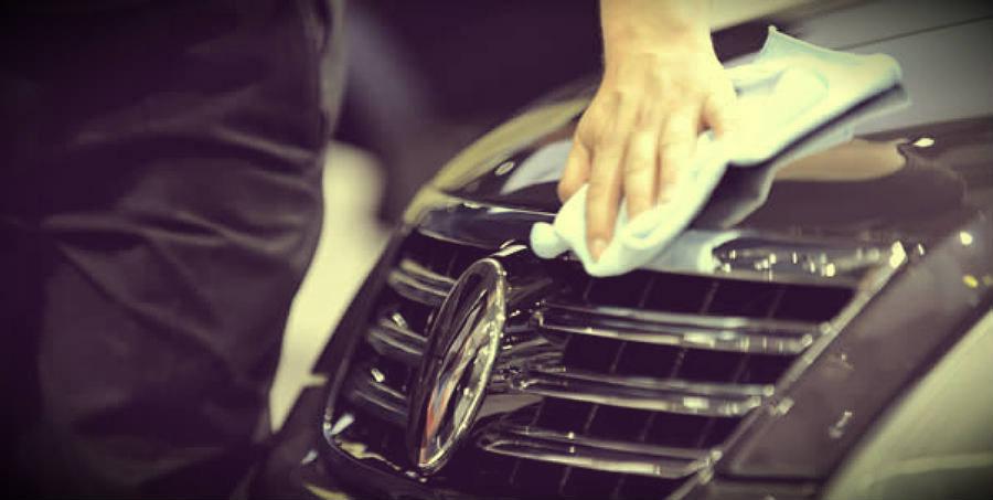 Conservação da pintura do carro