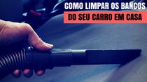 Como limpar os bancos do carro?