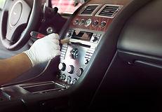 higienização interna de veículos