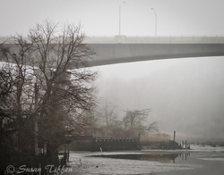 Susan Tiffen Snow and Fog Viaduct