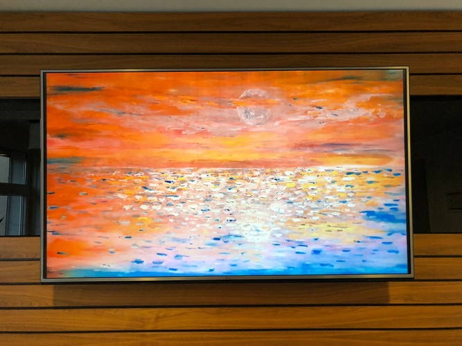 Digital art in meetingroom
