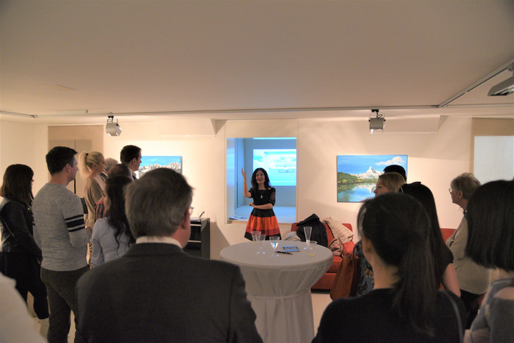 Digital art exhibition