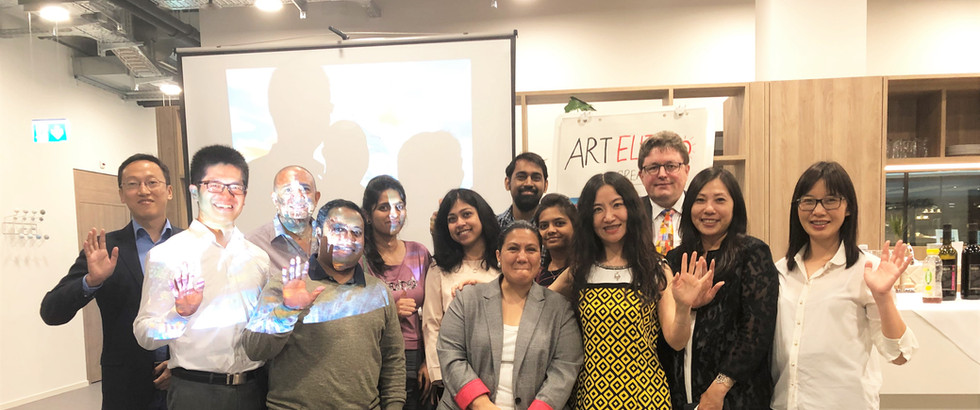 Art Creativity with Global Professionals at ART ELITE CENTER
