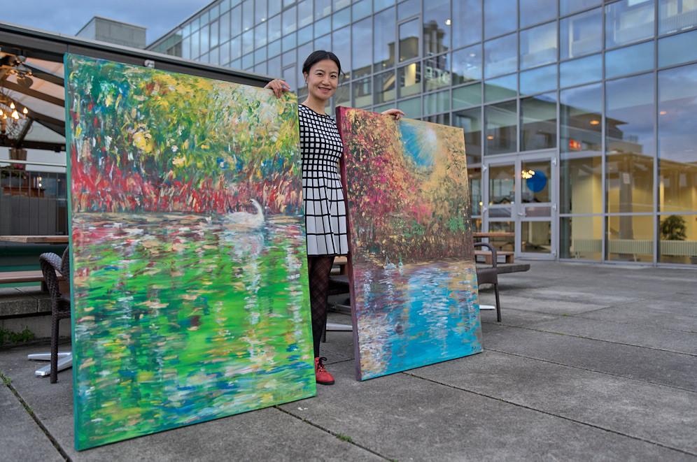 Excellent Paintings, Jing Li, Innovative Artist