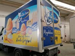 Rotulación camión publicitario 2