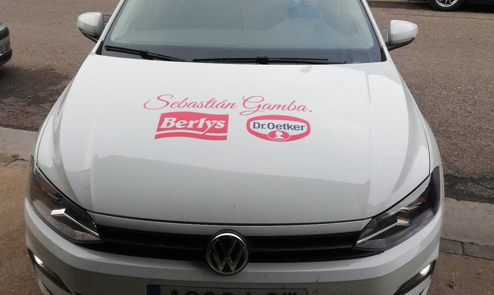 Rotulación de vehículos Sebastián Gamba.