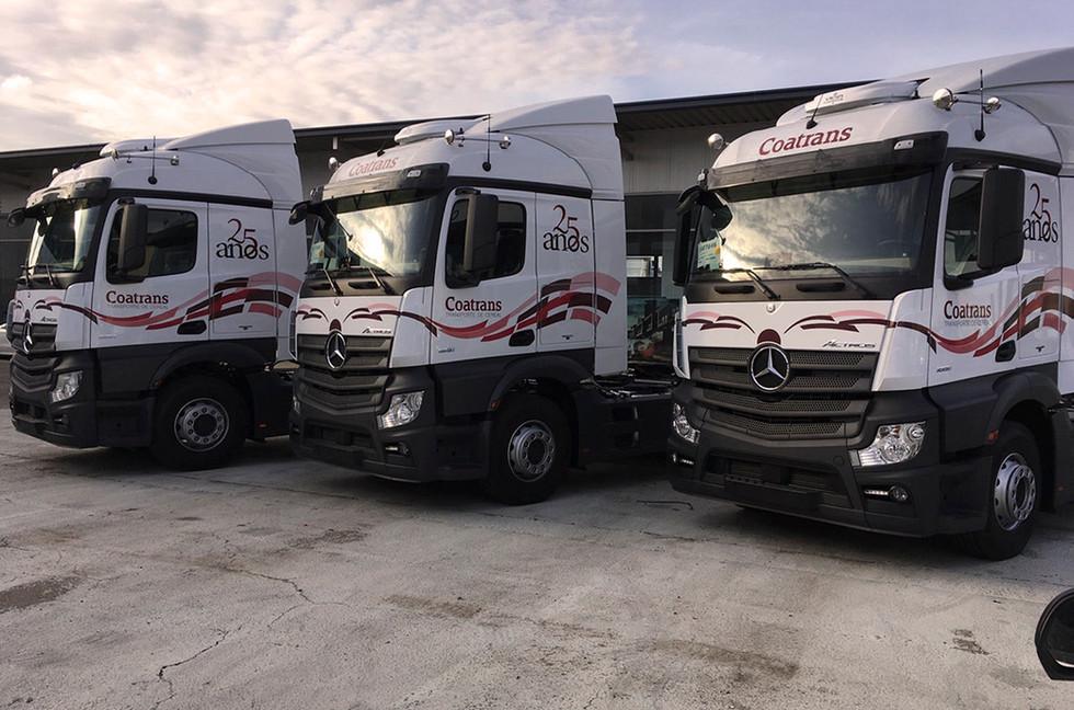 Rotulacione camiones coatrans