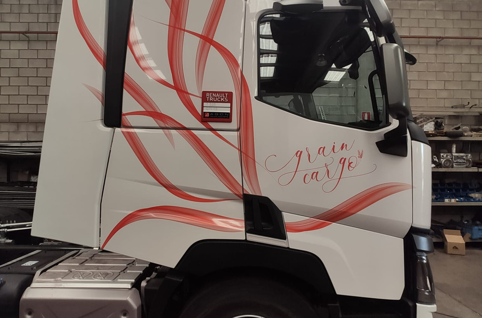 Rotulación camión Grain Cargo