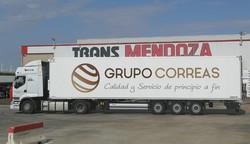 Rotulación camión Grupo Correas