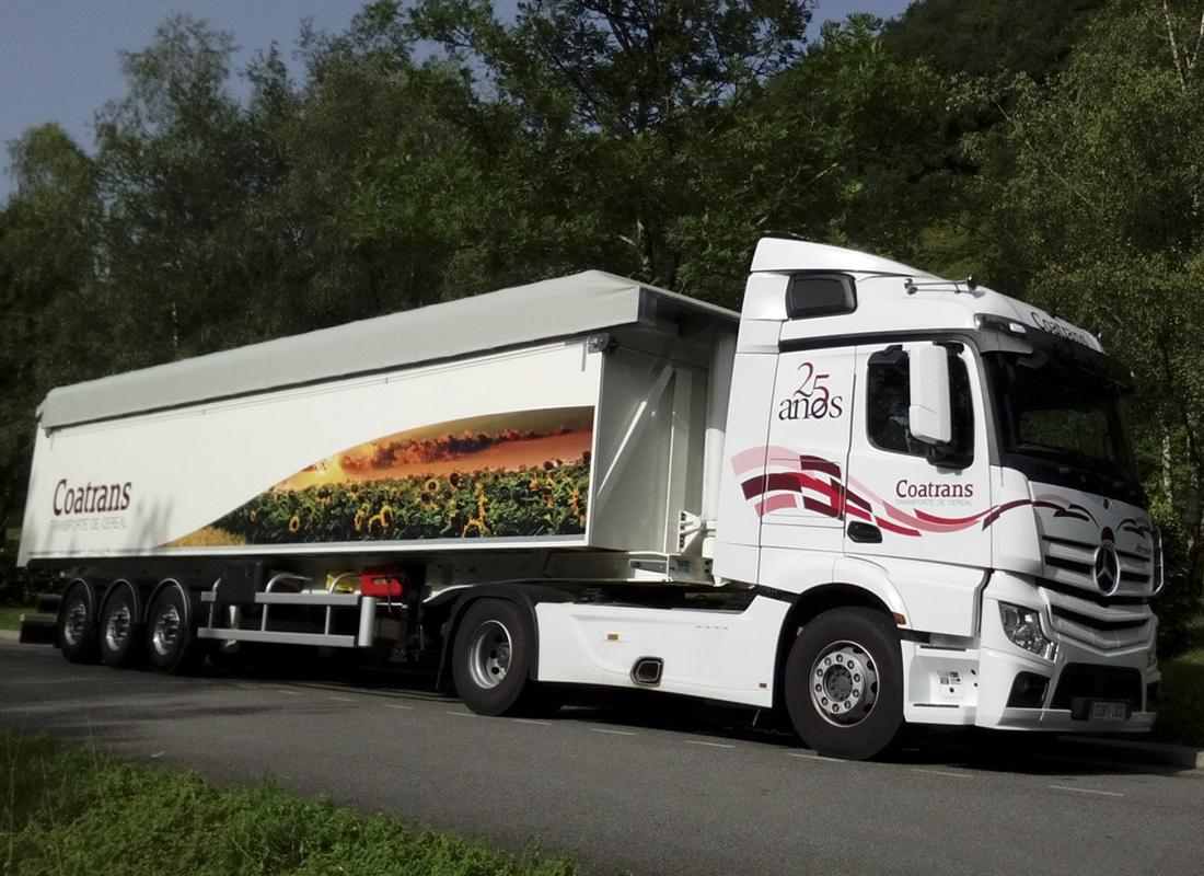 Rotulación camión COATRANS