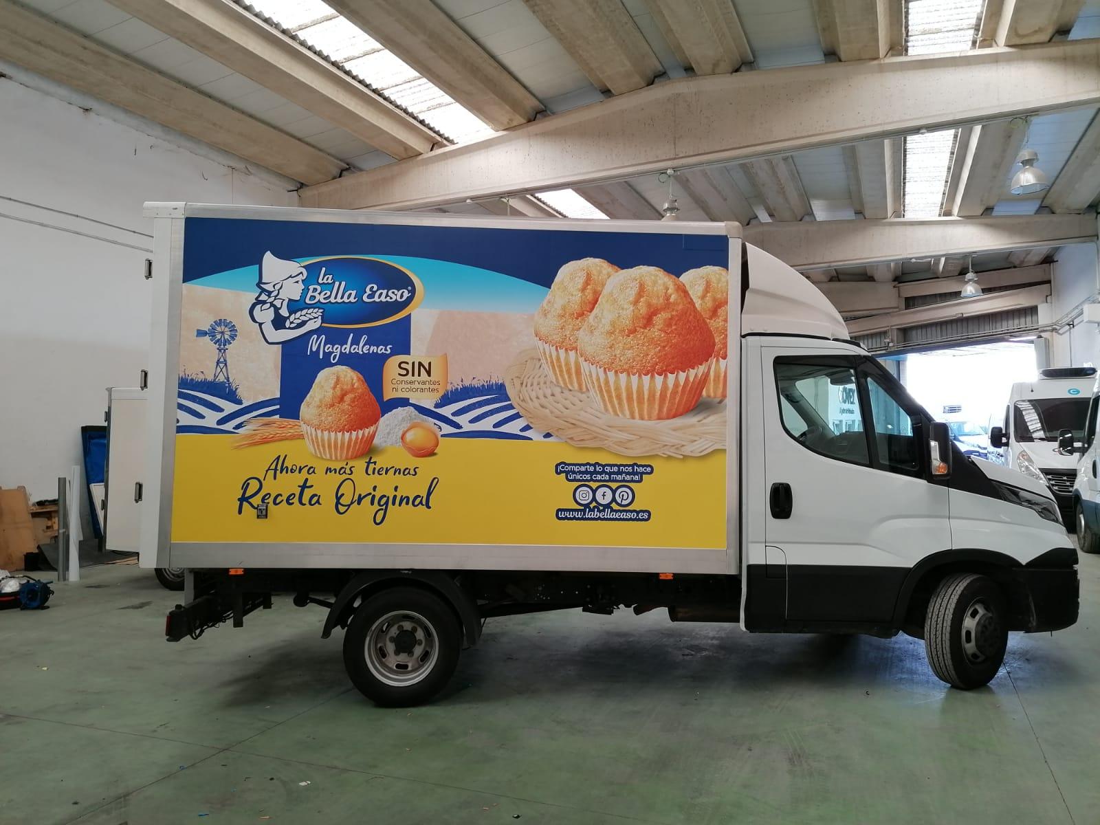 Rotulación camión publicitario