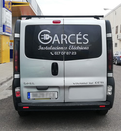 Furgoneta Opel Vivaro Garces 3