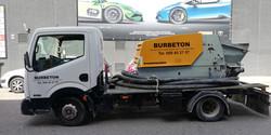rotulación bomba BURBETON
