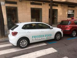 Rotulación coche Frozen Food