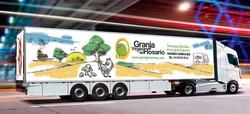 Diseño rotulación frigo camión