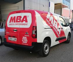 Rotulación de vehículos MBA