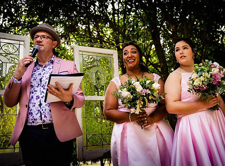 Wedding Celebrant Wedding DJ Wedding MC Marriage Celebrant  Parklands Mudgee