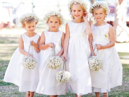 Tips for first time Flower girls.