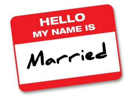 Changing your name after Marriage.