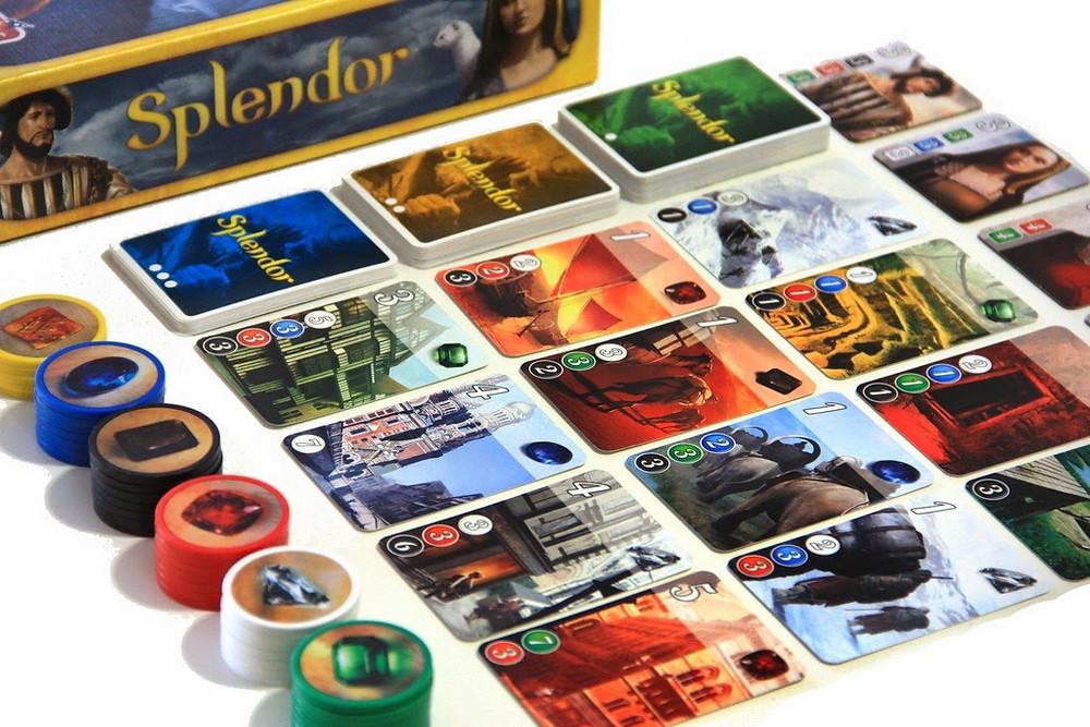 ביקורת משחק ספלנדור splendor board game play with lilach משחק לשני שחקנים מבוגרים משחק לוח לזוג