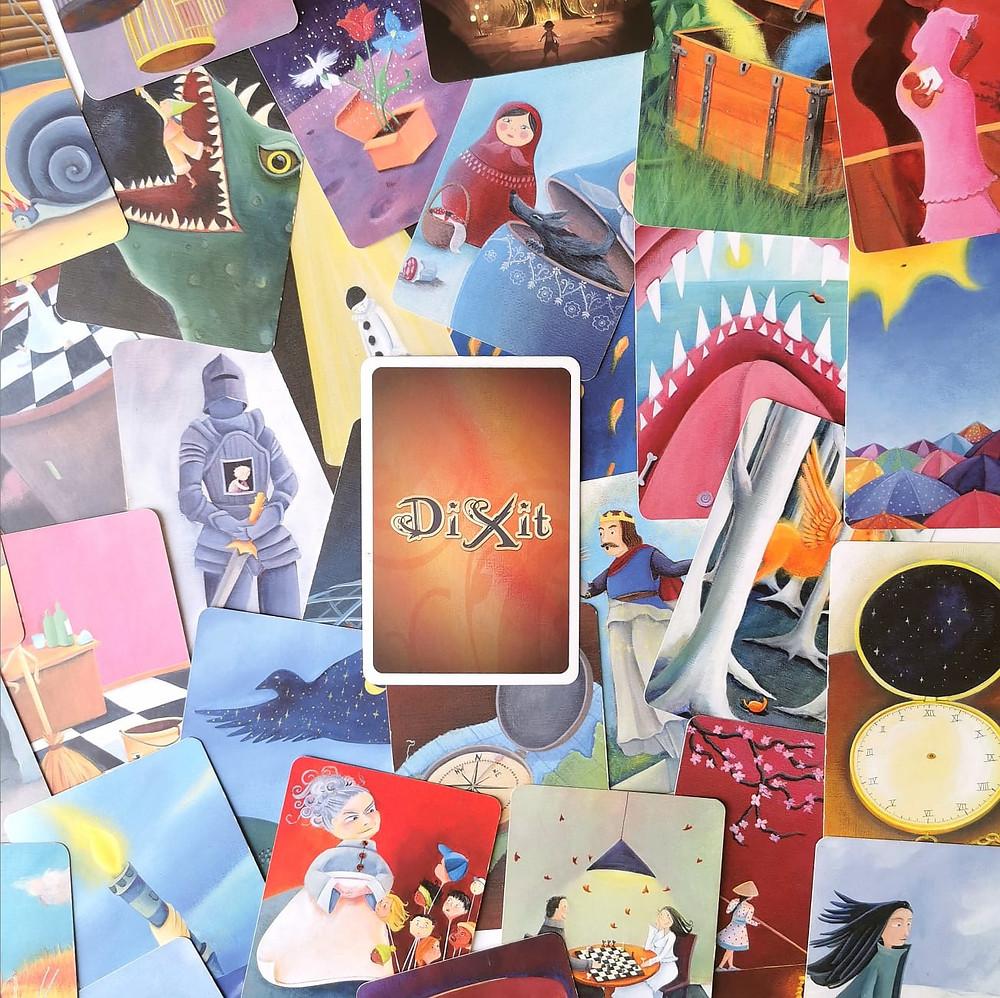 דיקסיט משחק קלפים משחק לוח לכל המשפחה play with lilach