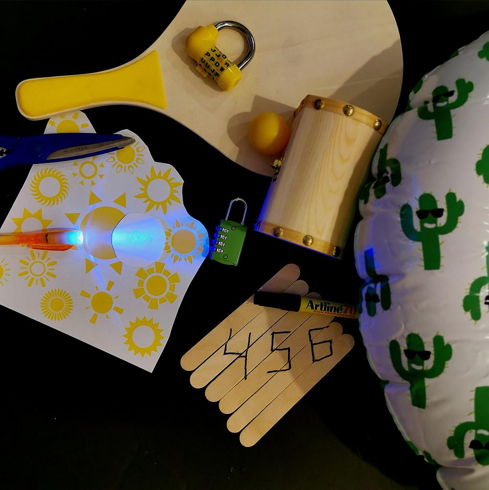 חדר בריחה DIY משימות לחדר בריחה play with lilach