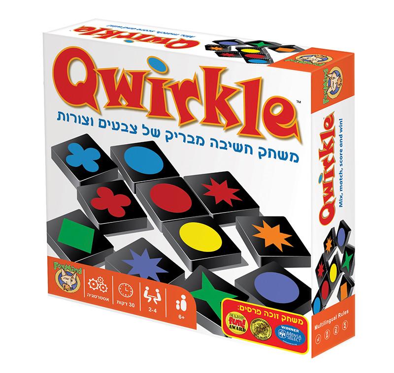 qwirkle קווירקל משחק חשיבה play with lilach
