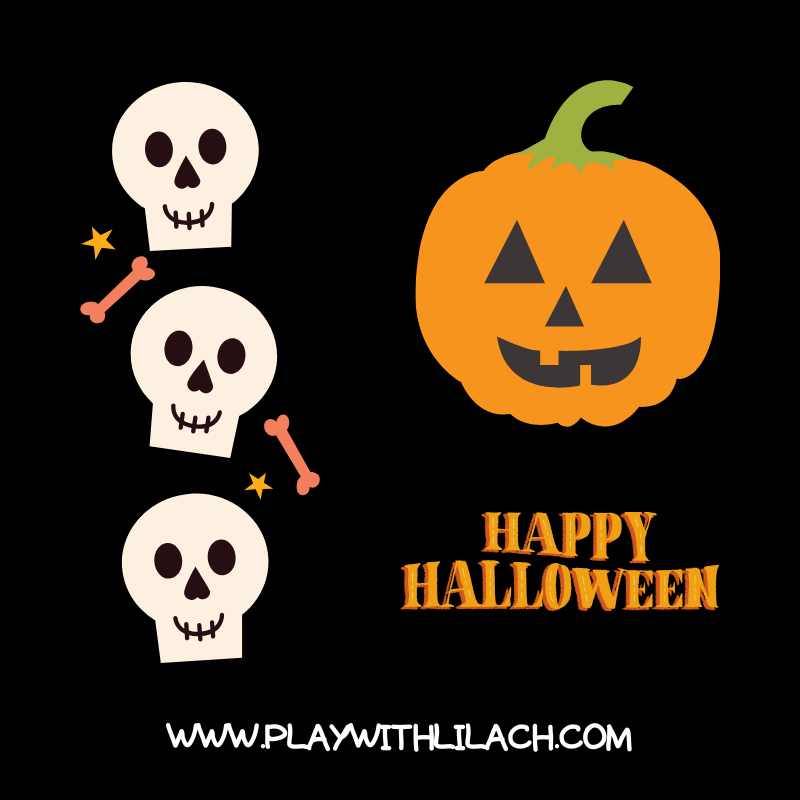 סופשבוע האלווין 2019 - אטרקציות מפחידות play with lilach