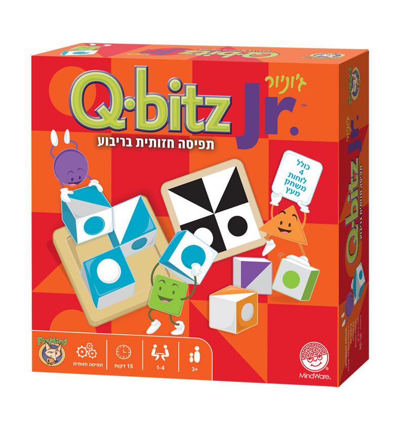 קיו ביץ' ג'וניור qbitz junior משחק תפיסה חזותית לילדים play with lilach