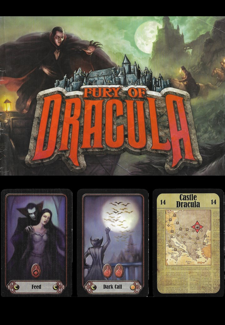 fury of dracula  game and cards - play with lilach