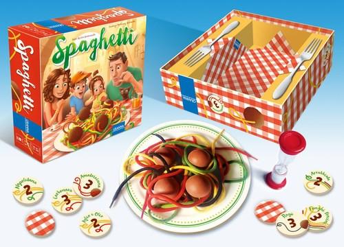 צפו בנו משחקים באסן במשחק ספגטי עם הממציא