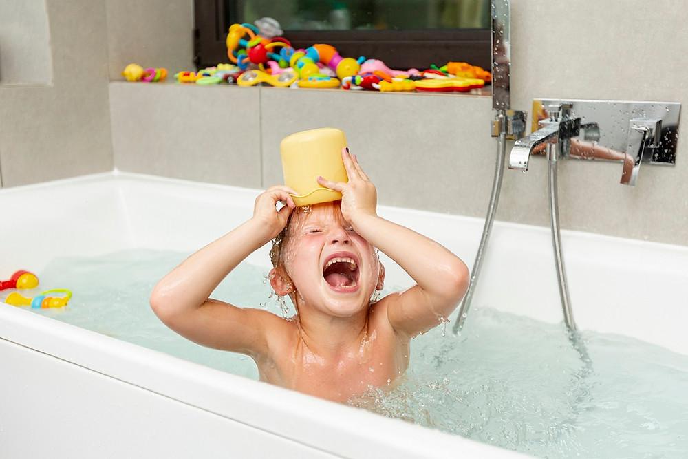 זמן מקלחת הוא זמן חרוזים!