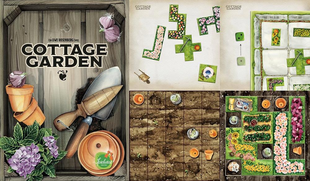 ביקורת משחק ערוגת גינה משחק לוח למבוגרים קוטג' גרדן play with lilach cottage garden
