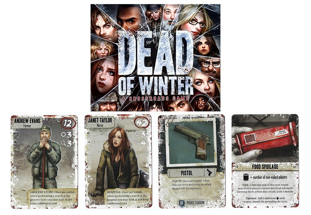 dead of winter  game and cards - play with lilach
