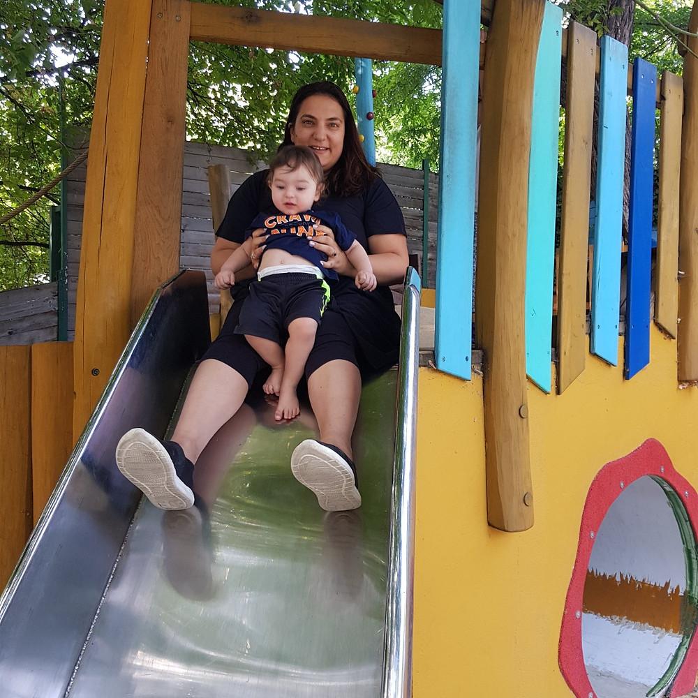 מתקני משחקים בגן החיות בבודפשט play with lilach
