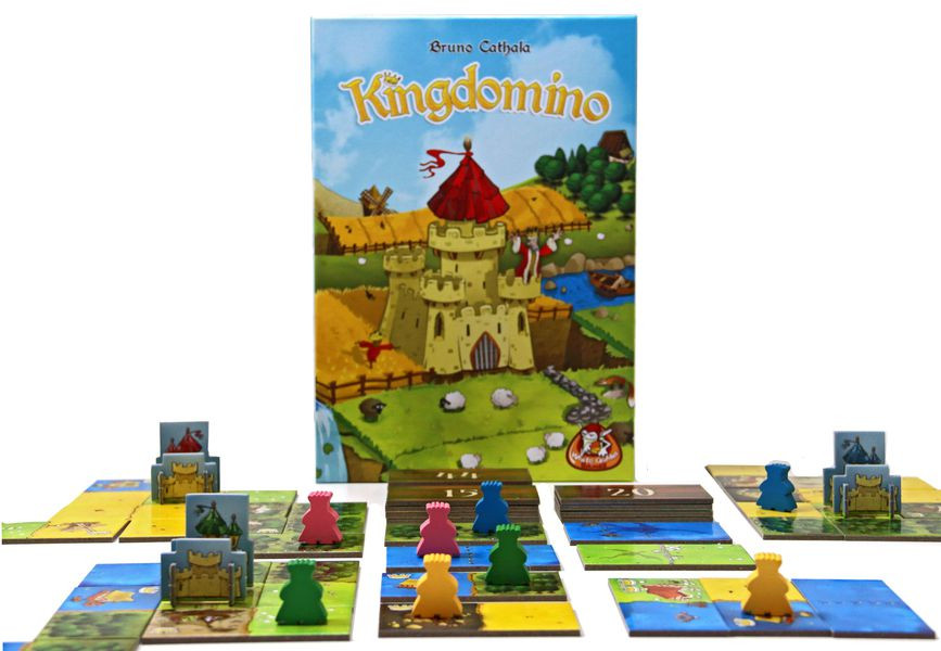 kingdomino קינגדומינו משחק לוח למבוגרים המלצה וביקורת play with lilach