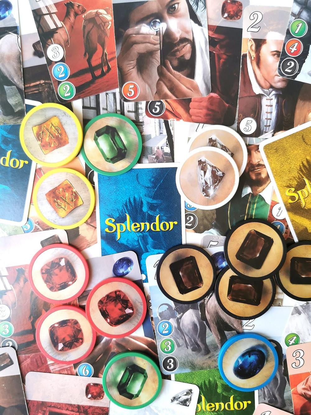 ספלנדור משחק קלפים משחק לוח play with lilach