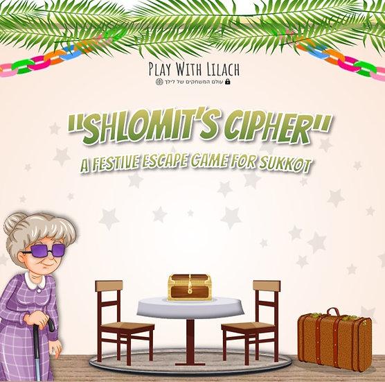Shlomit's Cipher - Home Escape Game for Sukkot
