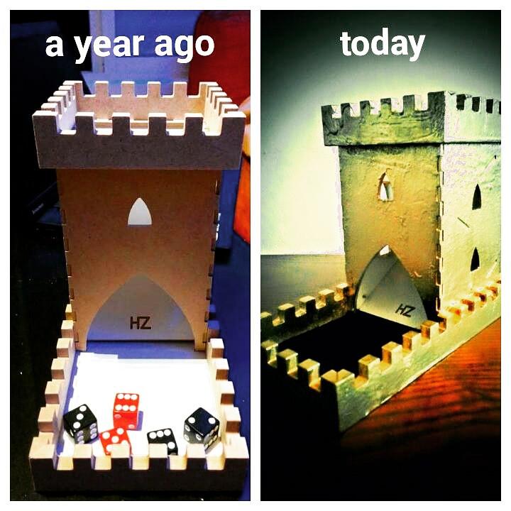 מגדל קוביות, dice tower
