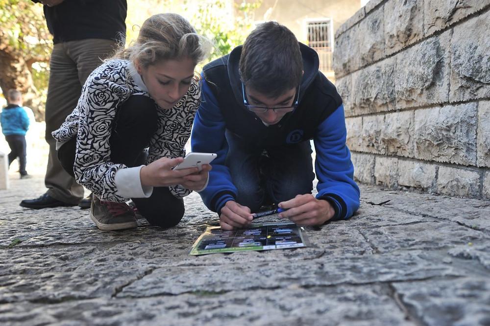 משחק ניווט סלולרי בפקיעין play with lilach