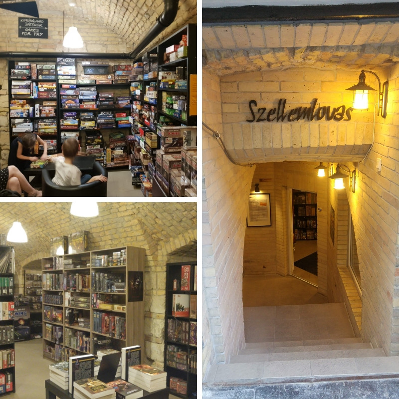 חנות משחקי לוח בבודפשט play with lilach