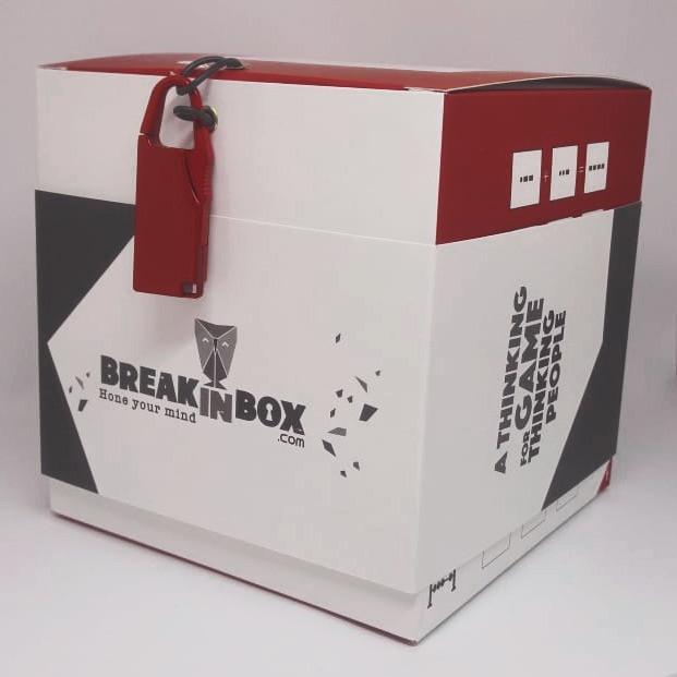 משחק חידות בקופסא break in box - play with lilach