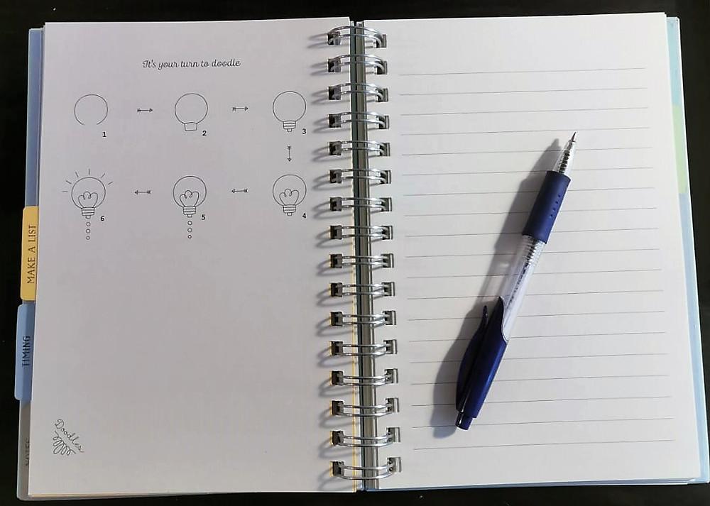 מחברת רעיונות והשראה play with lilach תכנון שנה