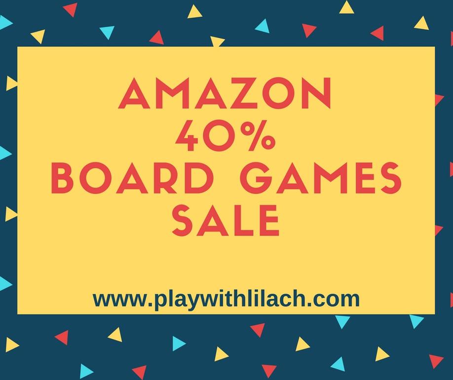 מבצע 40% הנחה על מגוון משחקים באמזון