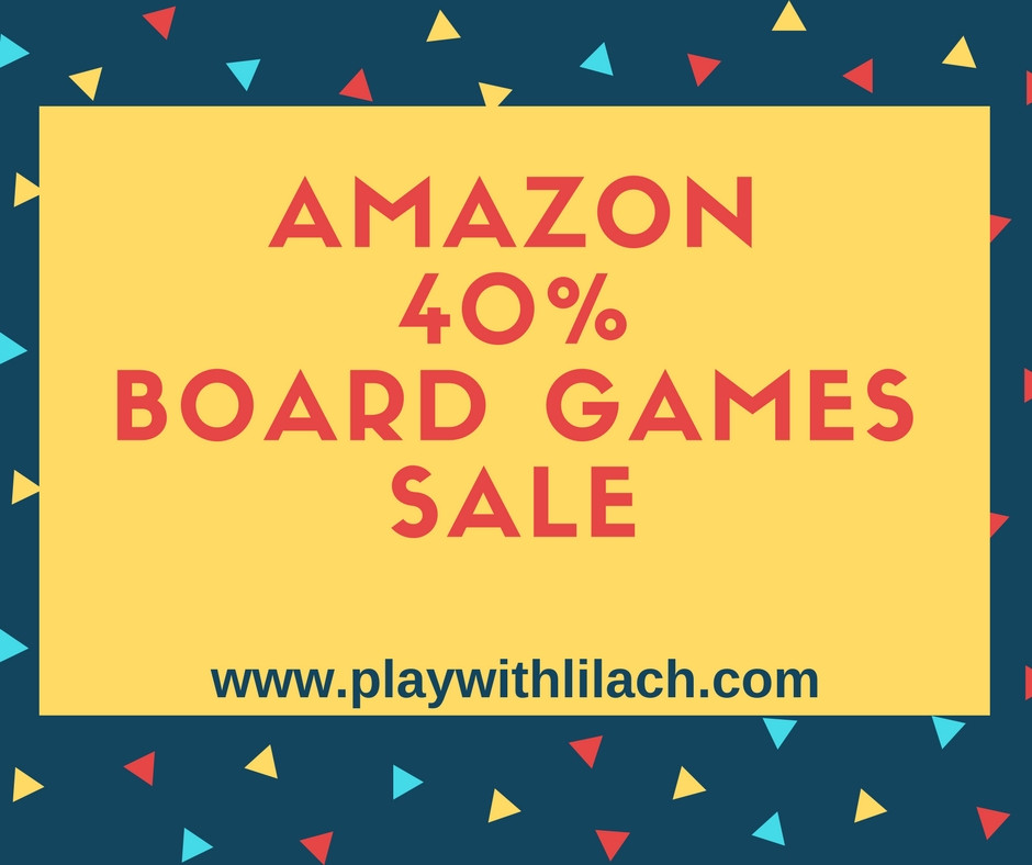amazon sale board games - play with lilach