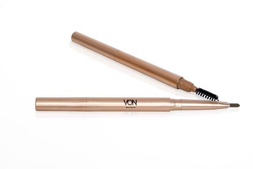 Coffee Brown Eyebrow & Lip Pencil